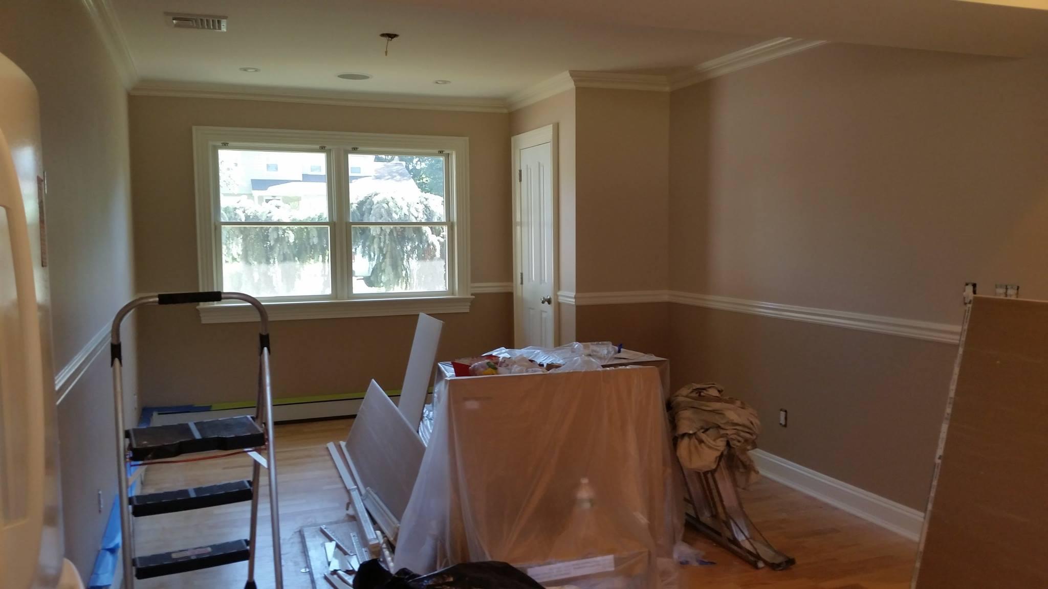 Painting service interiors mje professional painting for Professional painters cost interior